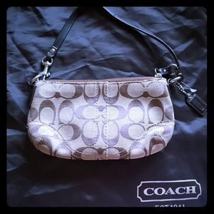 AUTHENTIC Coach small risk bag